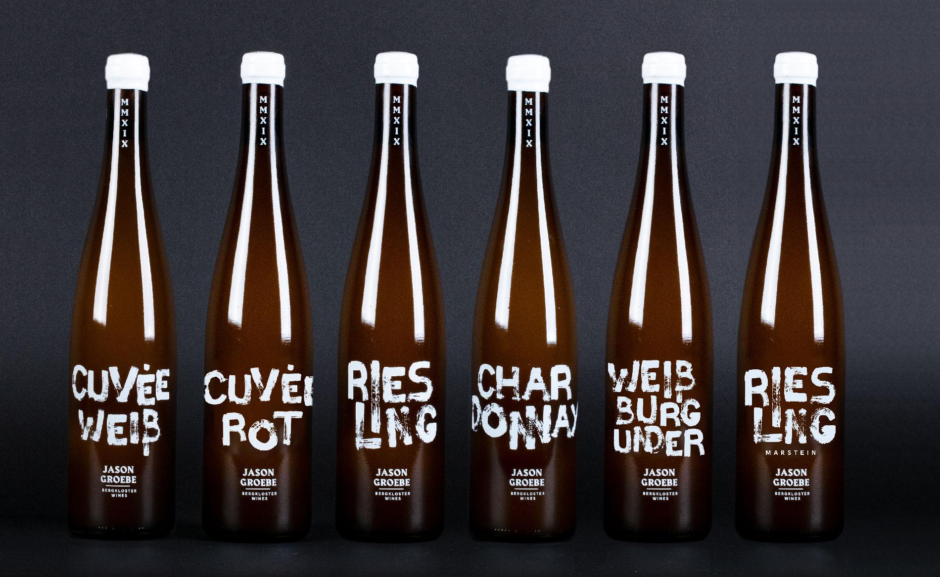 Corporate Design für Winzer Jason Groebe, Viel Liebe Wieslaw Heler Call for Creatives