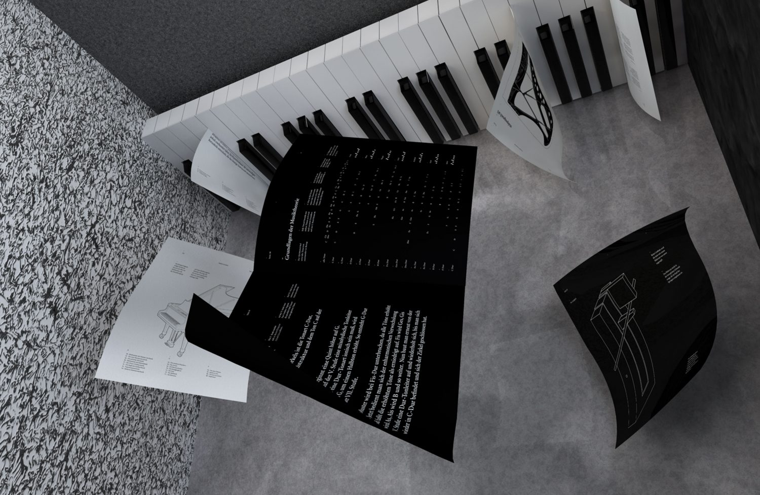 Pianoforte — 88 pages in black and white Call for Creatives