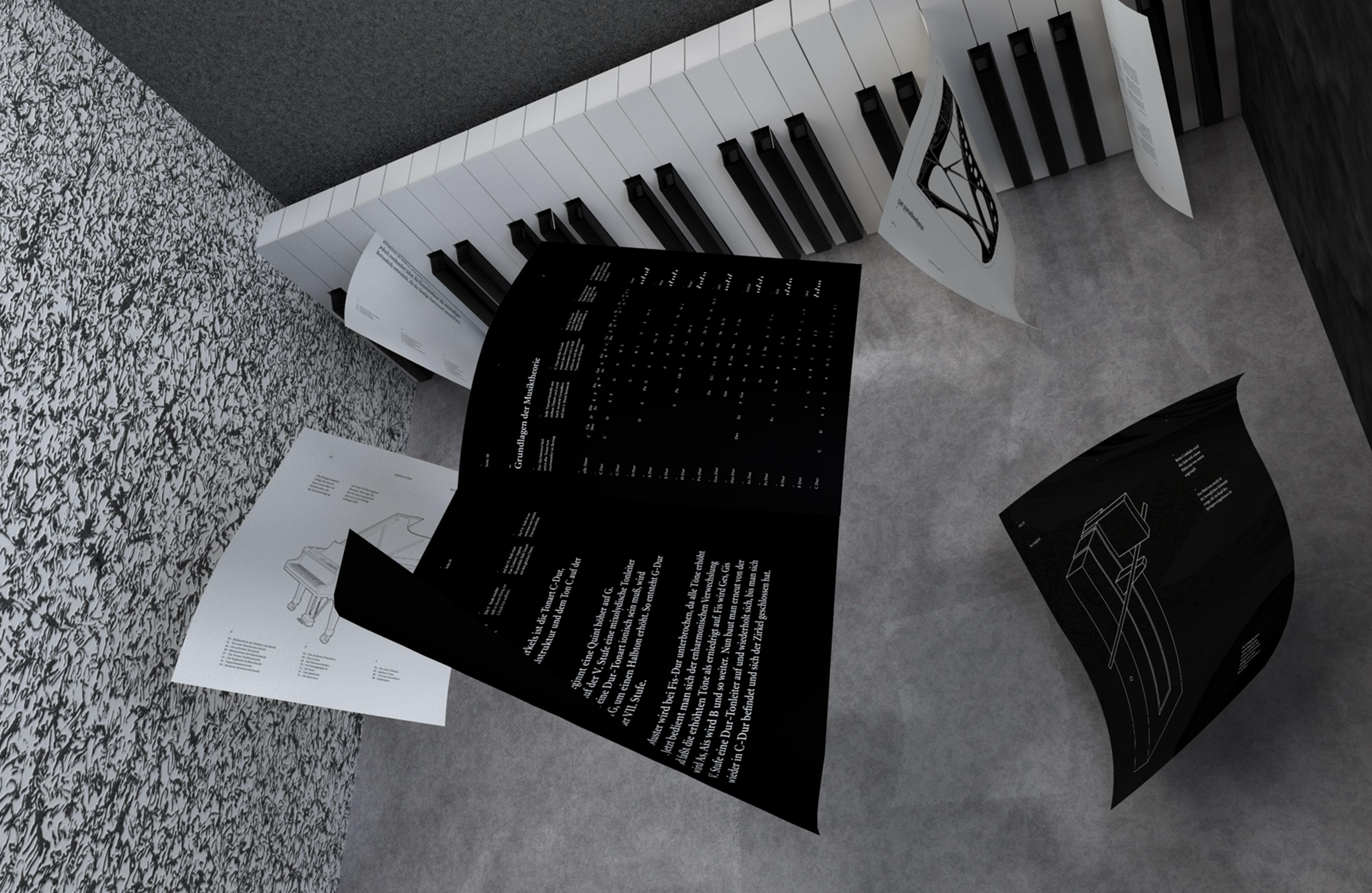 Pianoforte — 88 pages in black and white Rafael Bernardo Call for Creatives