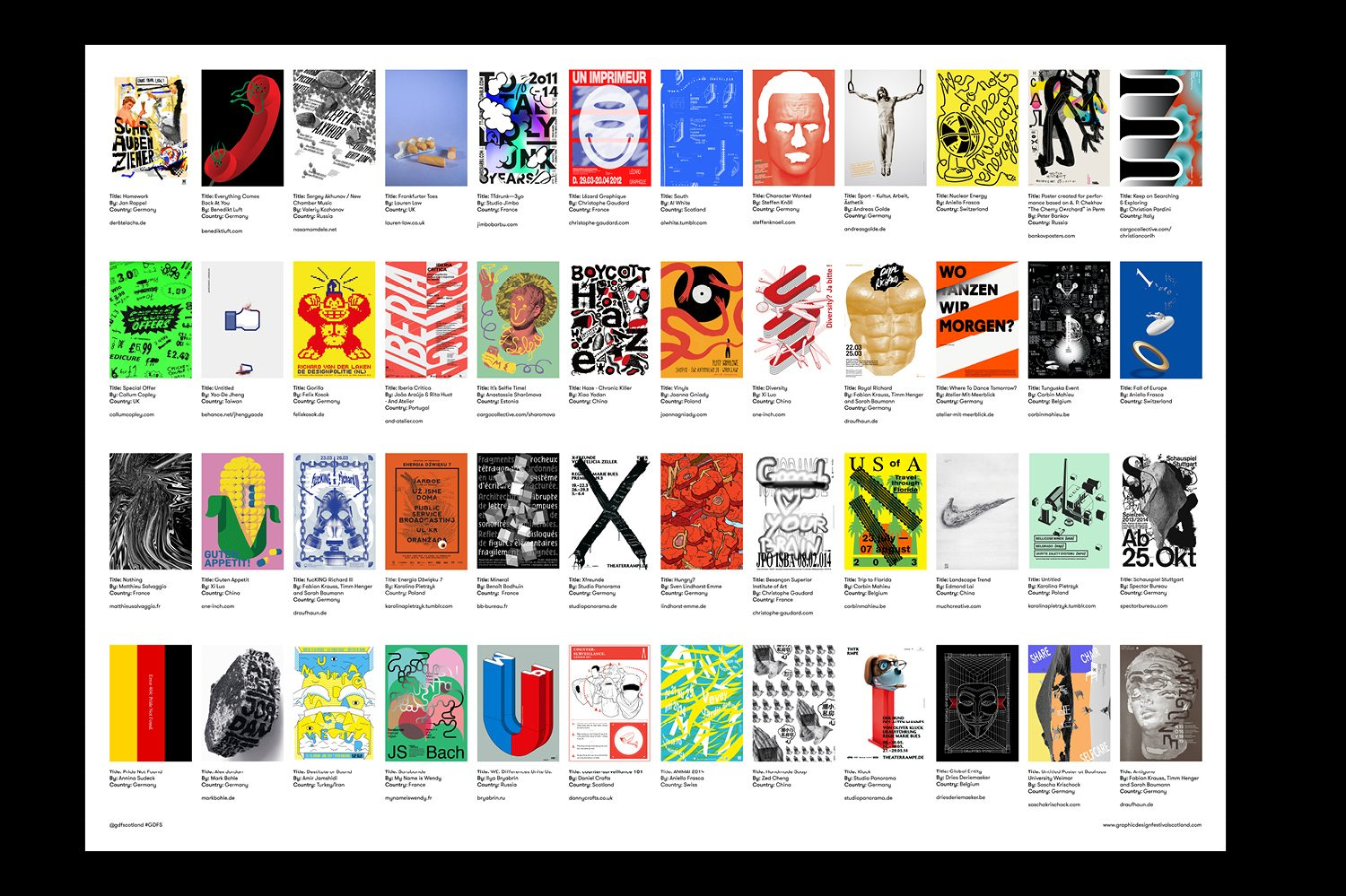 Graphic Design Festival Scotland