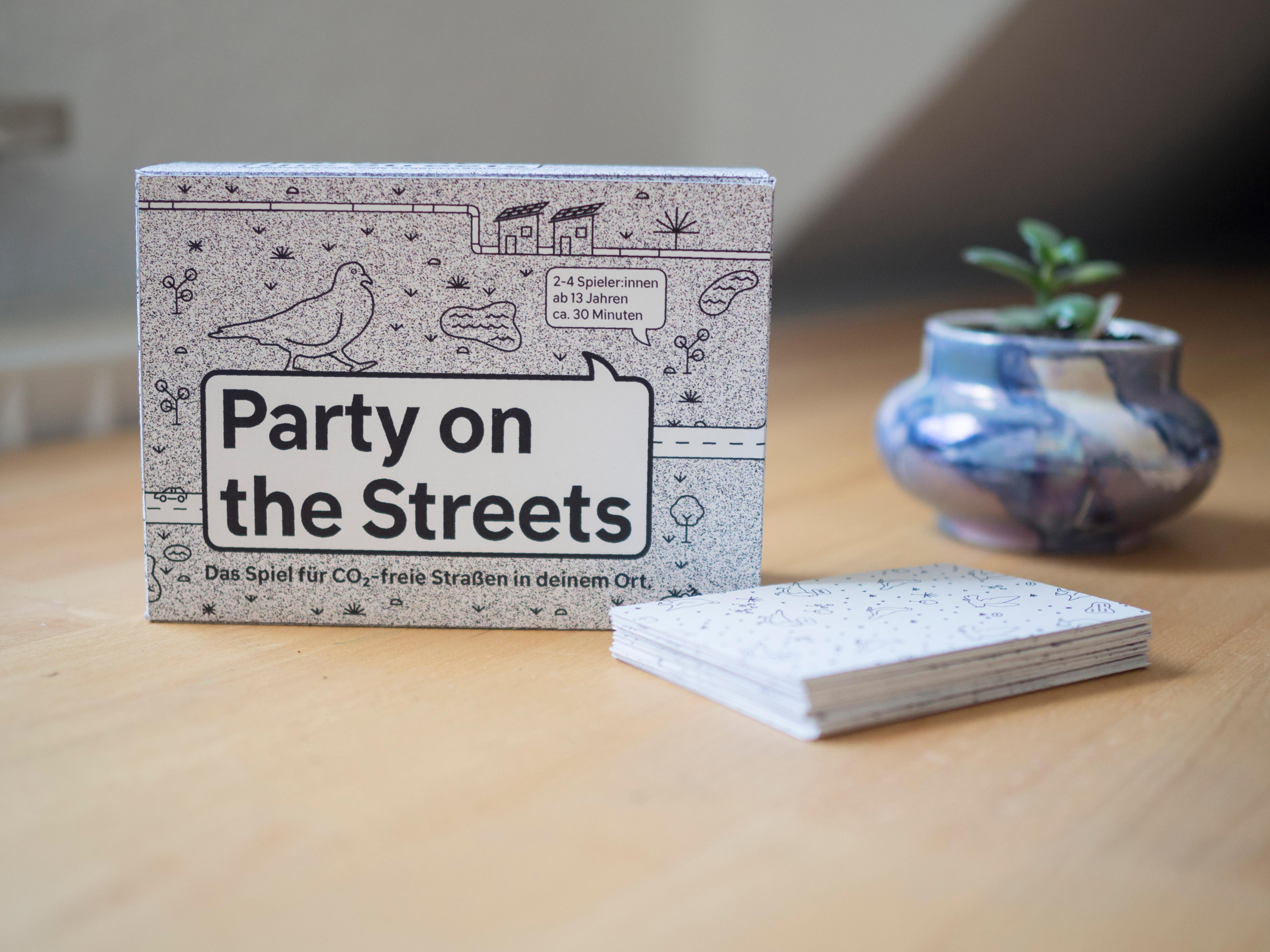 Party on the Streets Clara Grubert Call for Creatives