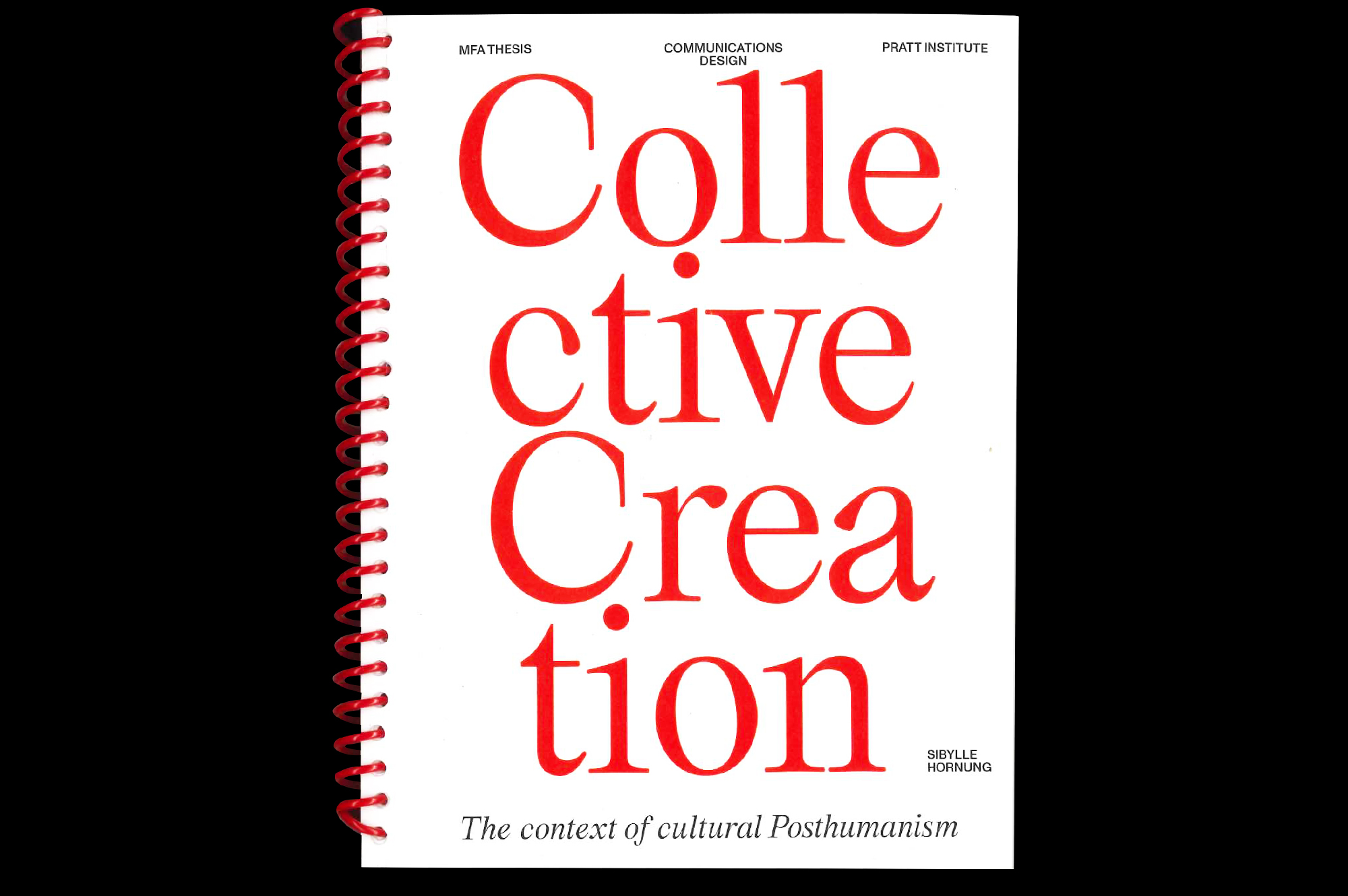 Collective Creation – In context of Posthumanism Sibylle Hornung Call for Creatives