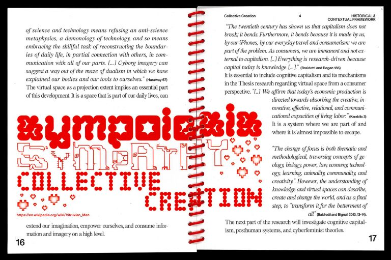Collective Creation – In context of Posthumanism
